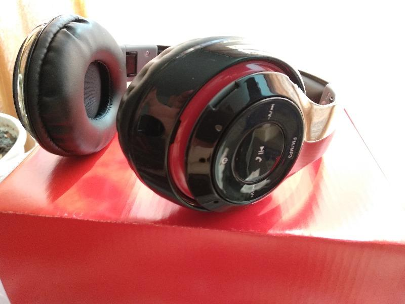 Słuchawki Bluetooth z mikrofonem Freestyle FH0916 Czarne