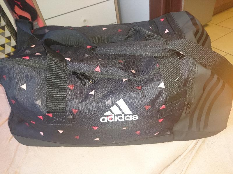 8b77ebd7cafaa Adidas 3-Stripes Essentials Team Bag Medium Black - Ceny i opinie ...