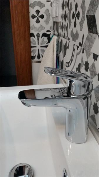 Favorit Bateria Hansgrohe Logis 100 chrom 71107000 - Baterie Umywalkowe NP97