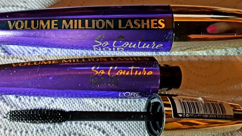 df46f3115fe L'Oreal Volume Million Lashes So Couture So Black Pogrubiający Tusz ...