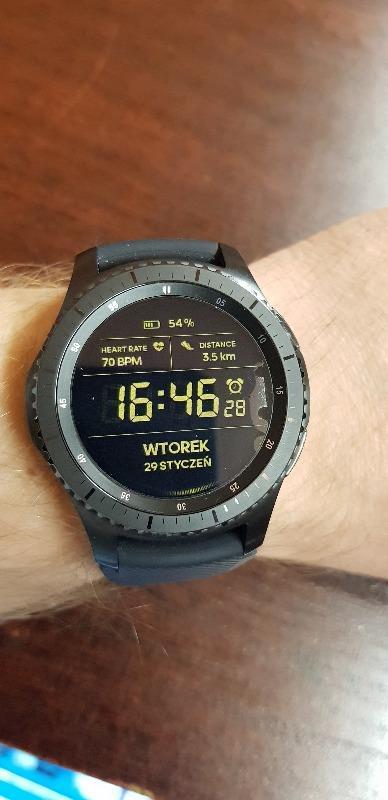 650e003a95 Smartwatche i Smartbandy Samsung Gear S3 SM-R760 Frontier - Opinie i ...