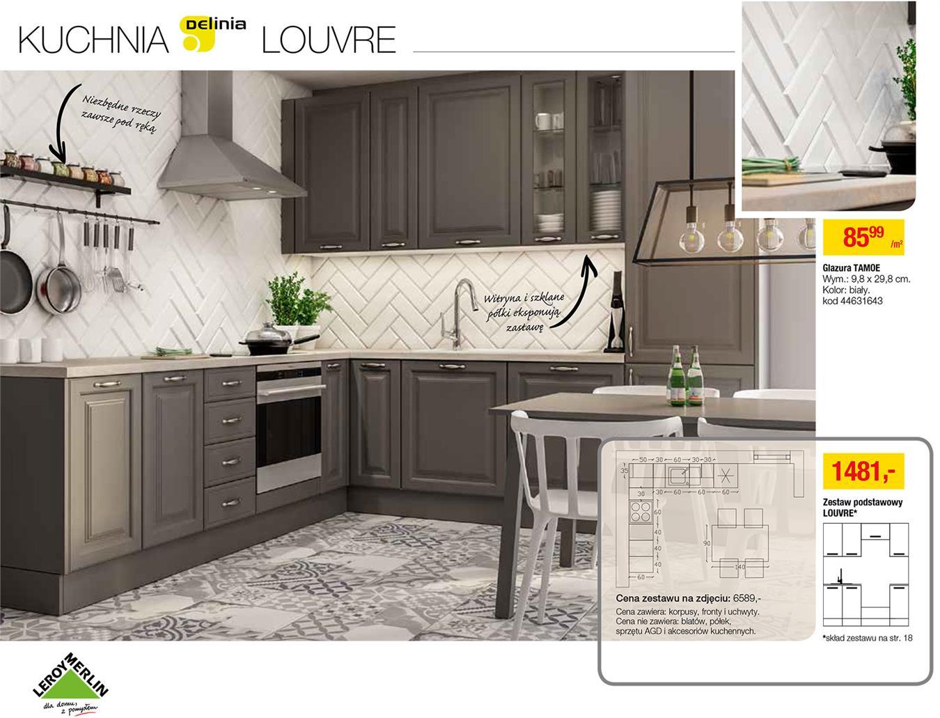 Gazetka Promocyjna Leroymerlin Pl Katalog Kuchnie 2017 Lipiec