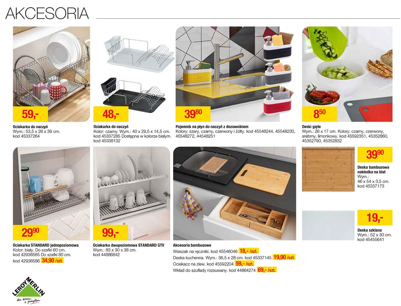 Gazetka Promocyjna Leroymerlinpl Katalog Kuchnie 2017