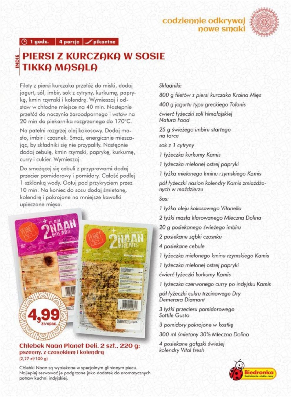 Gazetka Promocyjna Biedronkapl Kuchnia Azjatycka