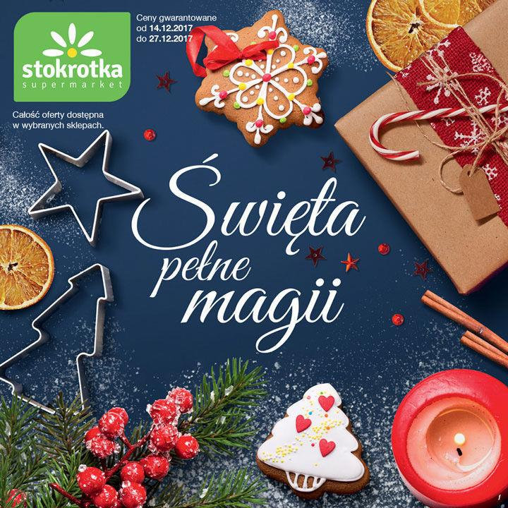 b6daae0632a742 Gazetka promocyjna Katalog Bożonarodzeniowy ważna od 14-12-2017 do  27-12-2017