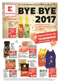 Gazetka nr Kaufland Polska Markety Sp. z o.o od  2017-12-28 do 2018-01-03