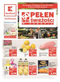 Gazetka nr Kaufland Polska Markety Sp. z o.o od  2018-01-04 do 2018-01-10