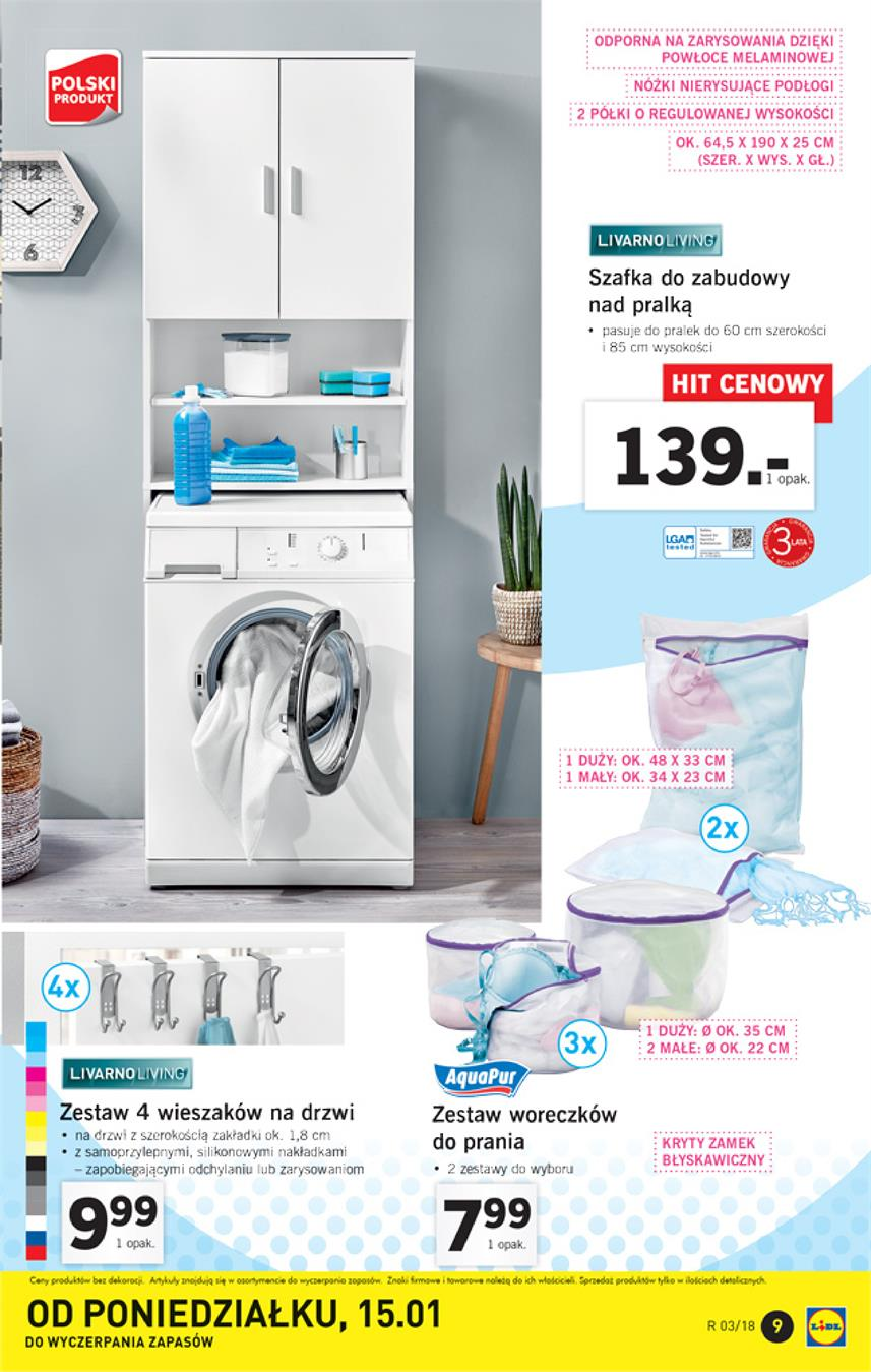 Gazetka Lidl Polska Sp. z o.o. nr 9 od 2018-01-15 do 2018-01-21