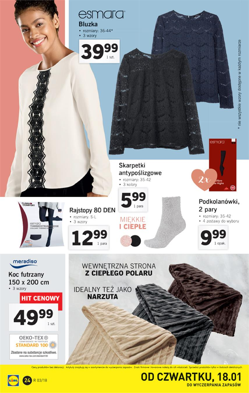 Gazetka Lidl Polska Sp. z o.o. nr 24 od 2018-01-15 do 2018-01-21