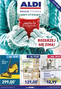 Gazetka nr ALDI SP Z O O  od  2018-01-15 do 2018-01-21
