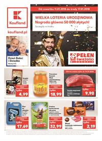 Gazetka nr Kaufland Polska Markety Sp. z o.o od  2018-01-11 do 2018-01-17