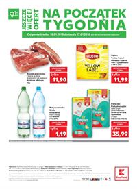 Gazetka nr Kaufland Polska Markety Sp. z o.o od  2018-01-15 do 2018-01-17