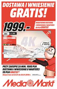 Gazetka nr MediaMarkt.pl od  2018-01-22 do 2018-01-28