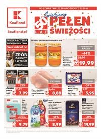 Gazetka nr Kaufland Polska Markety Sp. z o.o od  2018-02-01 do 2018-02-07