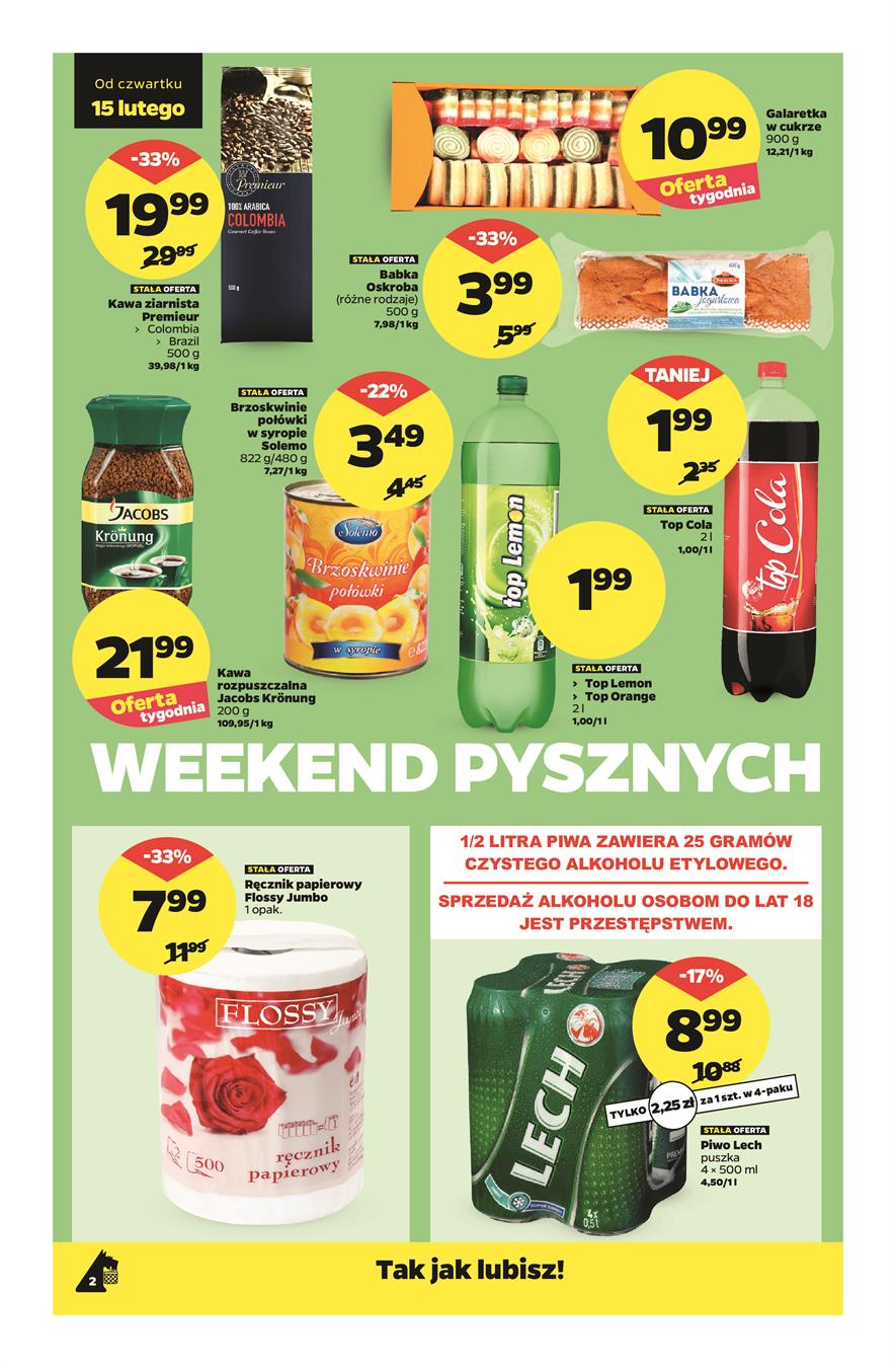 Gazetka Netto Sp. z o.o. nr 2 od 2018-02-15 do 2018-02-18