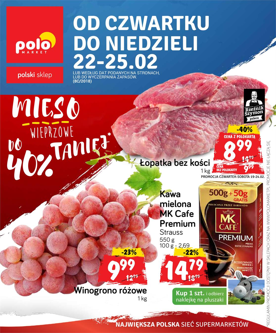 Gazetka Polomarket Sp. z o.o. nr 0 od 2018-02-22 do 2018-02-25