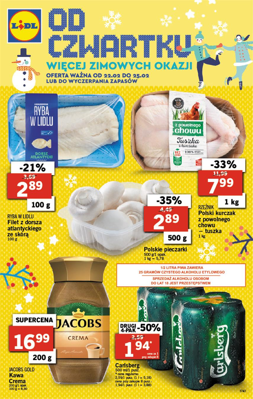 Gazetka Lidl Polska Sp. z o.o. nr 0 od 2018-02-22 do 2018-02-25