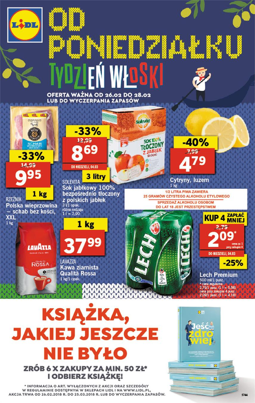 Gazetka Lidl Polska Sp. z o.o. nr 0 od 2018-02-26 do 2018-02-28