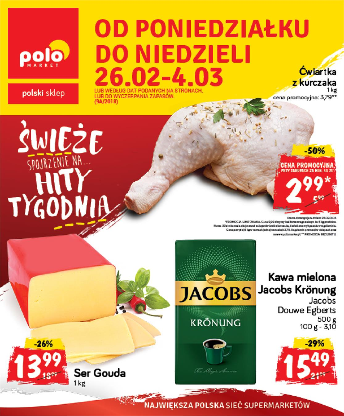 Gazetka Polomarket Sp. z o.o. nr 0 od 2018-02-26 do 2018-03-04