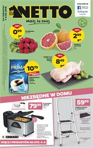 Gazetka nr Netto Sp. z o.o. od  2018-03-01 do 2018-03-04