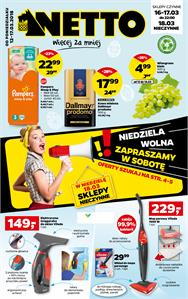 Gazetka nr Netto Sp. z o.o. od  2018-03-12 do 2018-03-17