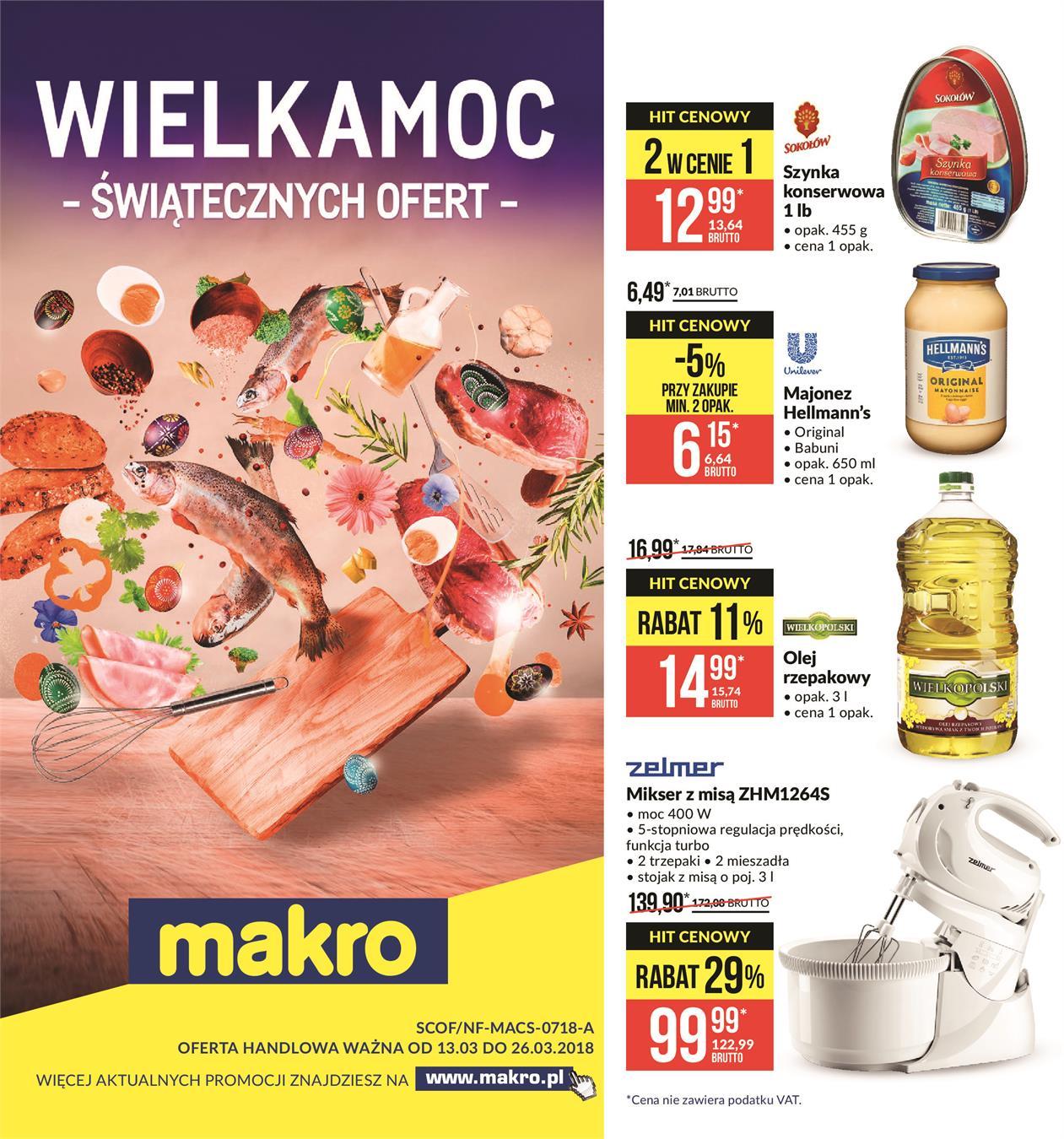 29f40a6305ae78 Gazetka promocyjna Makro od 13 marca ważna od 13-03-2018 do 26-03-2018