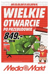 Gazetka nr MediaMarkt.pl od  2018-03-23 do 2018-03-31