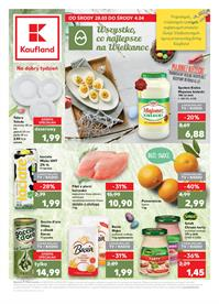 Gazetka nr Kaufland Polska Markety Sp. z o.o od  2018-03-28 do 2018-04-04