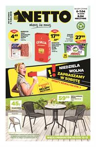 Gazetka nr Netto Sp. z o.o. od  2018-04-03 do 2018-04-07