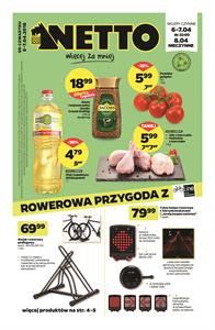 Gazetka nr Netto Sp. z o.o. od  2018-04-05 do 2018-04-07