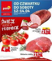 Gazetka nr Polomarket Sp. z o.o. od  2018-04-12 do 2018-04-14