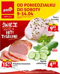 Gazetka nr Polomarket Sp. z o.o. od  2018-04-09 do 2018-04-14