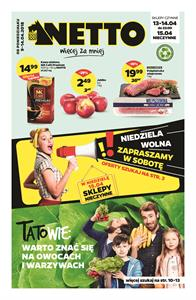 Gazetka nr Netto Sp. z o.o. od  2018-04-09 do 2018-04-14