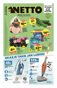 Gazetka nr Netto Sp. z o.o. od  2018-04-12 do 2018-04-14