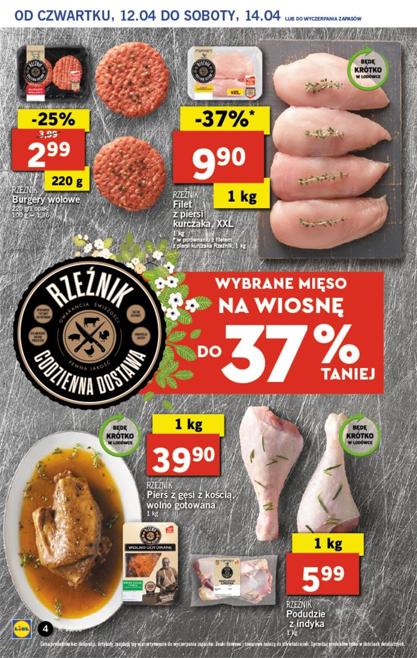 Gazetka Lidl Polska Sp. z o.o. nr 4 od 2018-04-12 do 2018-04-14