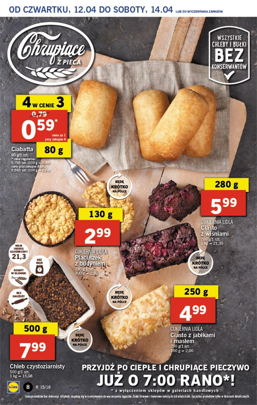 Gazetka Lidl Polska Sp. z o.o. nr 8 od 2018-04-12 do 2018-04-14