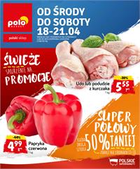 Gazetka nr Polomarket Sp. z o.o. od  2018-04-18 do 2018-04-21
