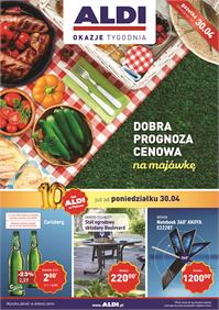 Gazetka nr ALDI SP Z O O  od  2018-04-30 do 2018-05-06