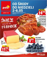Gazetka nr Polomarket Sp. z o.o. od  2018-05-02 do 2018-05-06