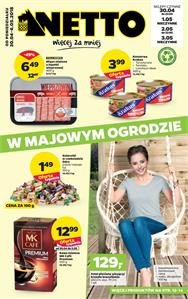 Gazetka nr Netto Sp. z o.o. od  2018-04-30 do 2018-05-06