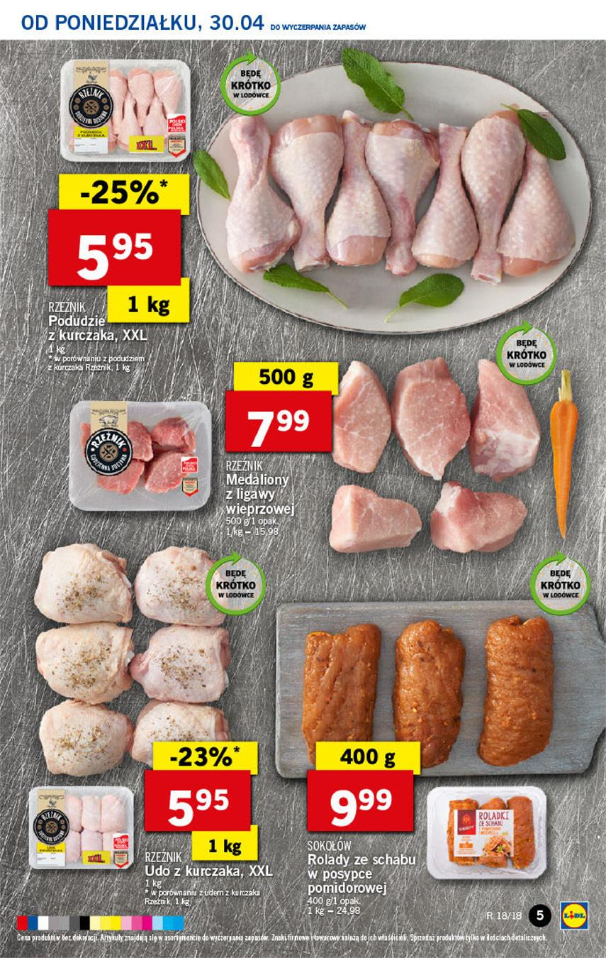 Gazetka Lidl Polska Sp. z o.o. nr 5 od 2018-04-30 do 2018-05-02