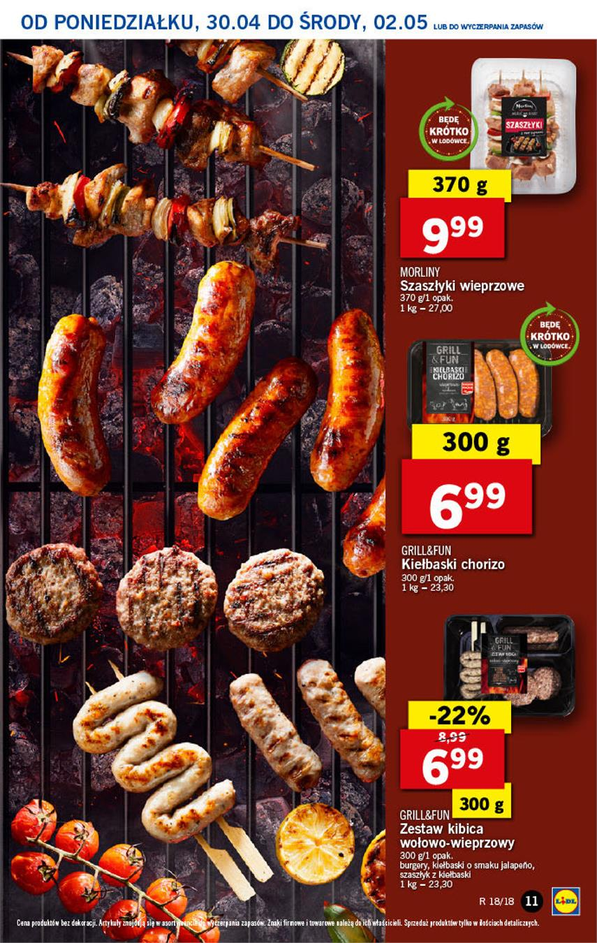 Gazetka Lidl Polska Sp. z o.o. nr 11 od 2018-04-30 do 2018-05-02