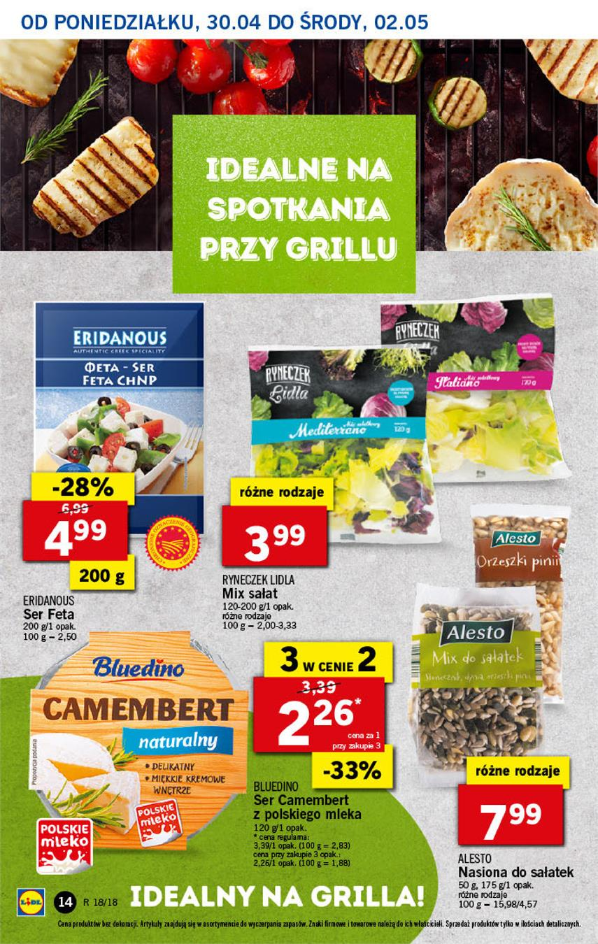 Gazetka Lidl Polska Sp. z o.o. nr 14 od 2018-04-30 do 2018-05-02