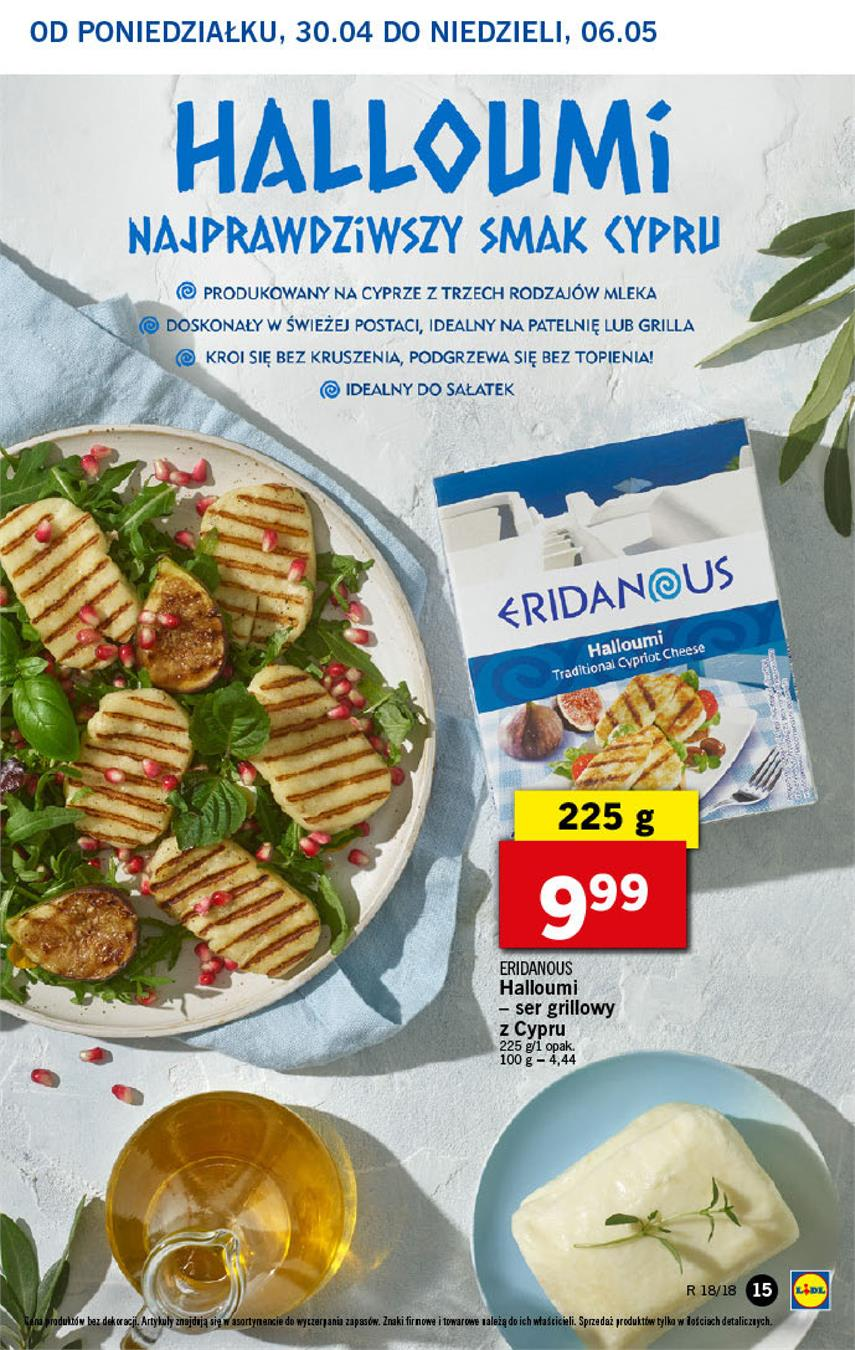 Gazetka Lidl Polska Sp. z o.o. nr 15 od 2018-04-30 do 2018-05-02