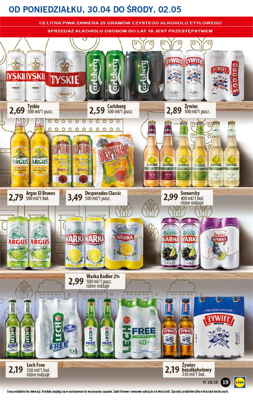 Gazetka Lidl Polska Sp. z o.o. nr 19 od 2018-04-30 do 2018-05-02