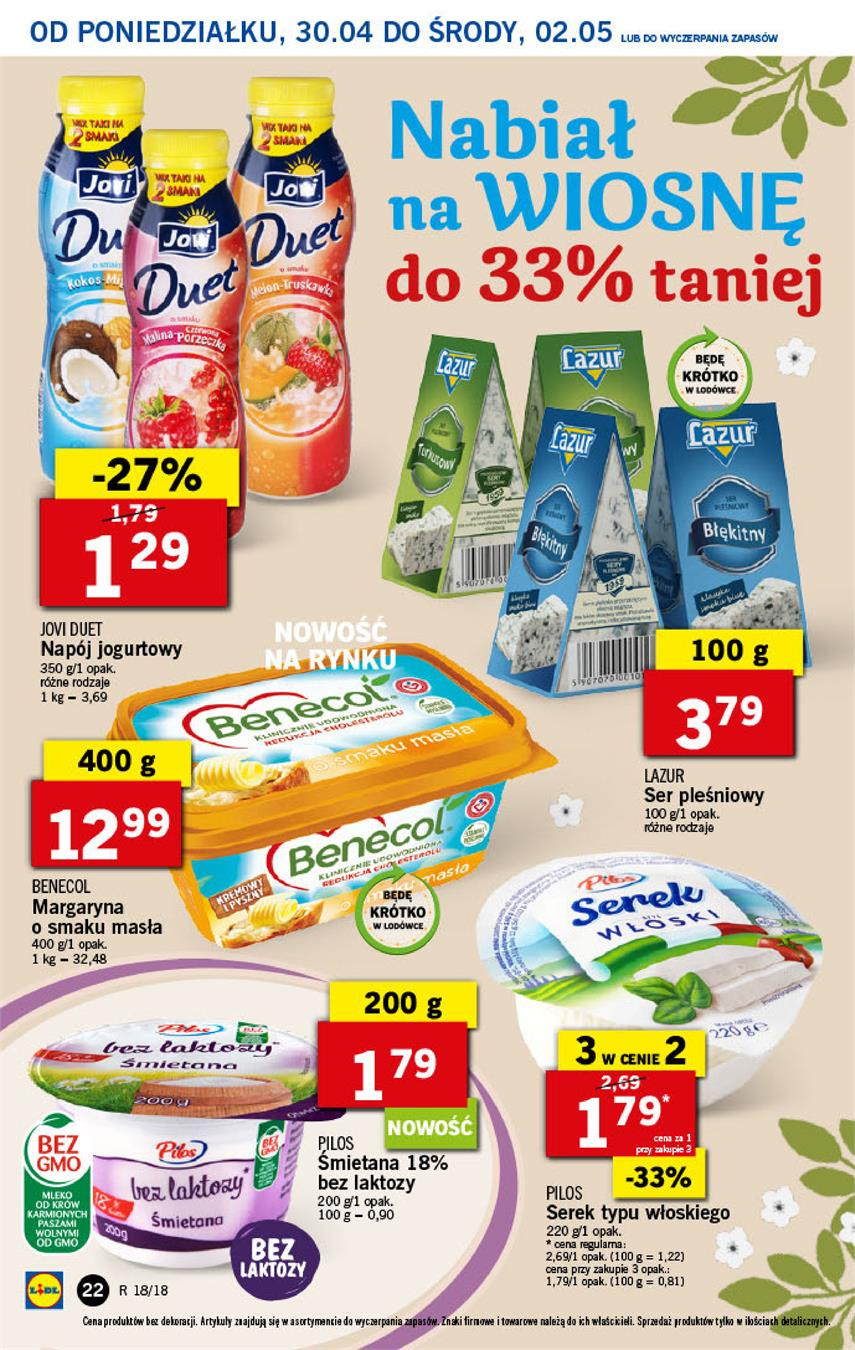 Gazetka Lidl Polska Sp. z o.o. nr 22 od 2018-04-30 do 2018-05-02