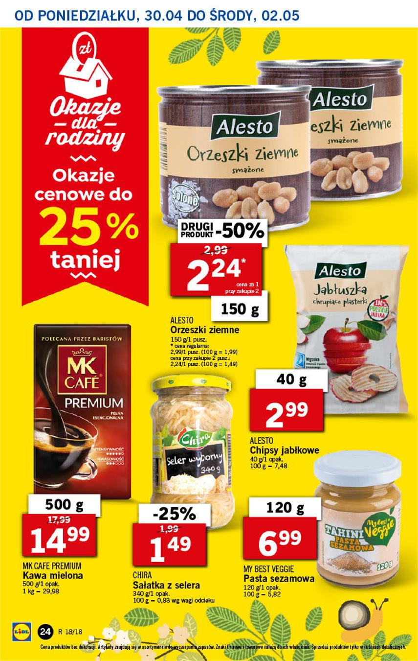 Gazetka Lidl Polska Sp. z o.o. nr 24 od 2018-04-30 do 2018-05-02