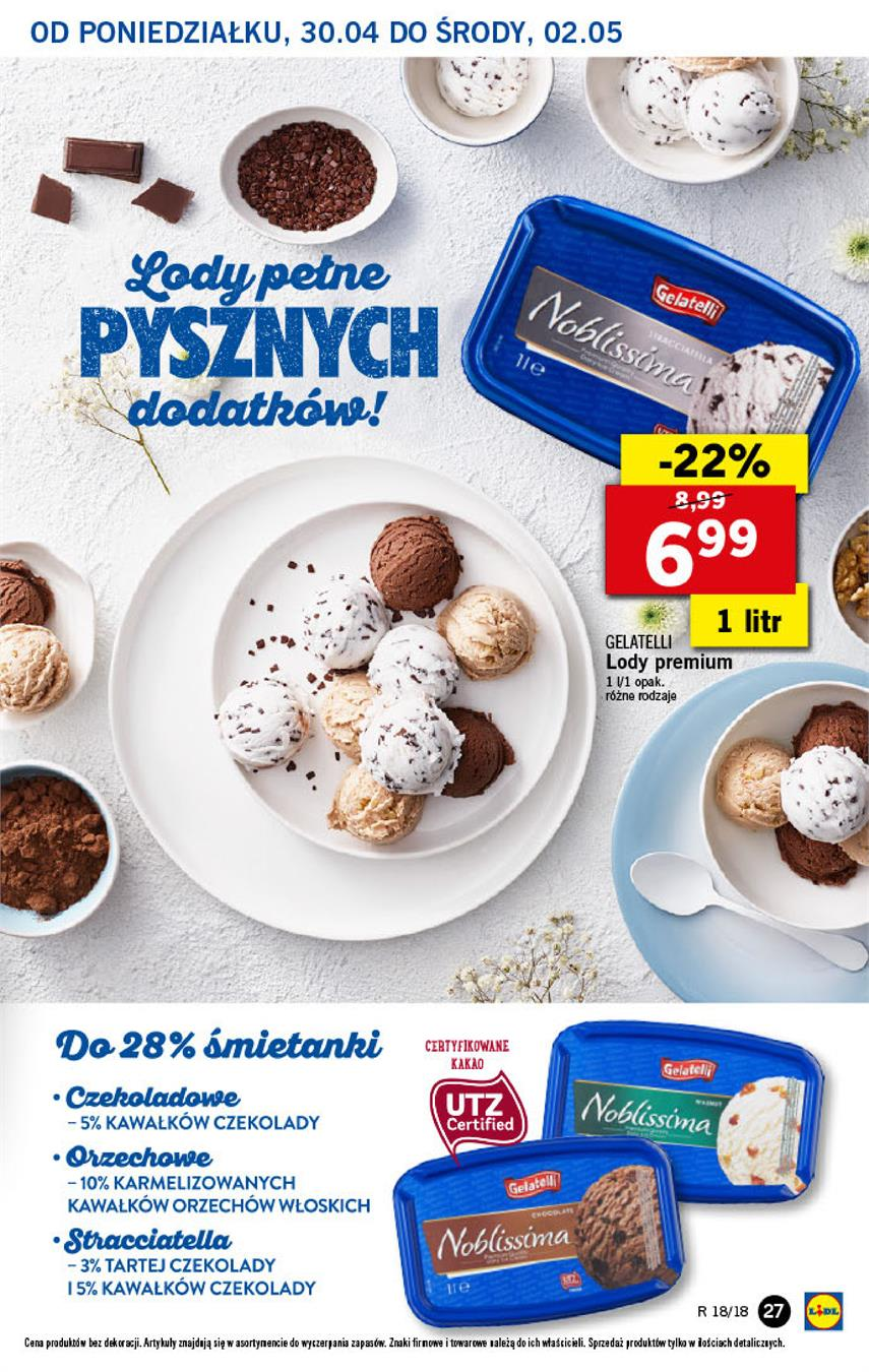 Gazetka Lidl Polska Sp. z o.o. nr 27 od 2018-04-30 do 2018-05-02