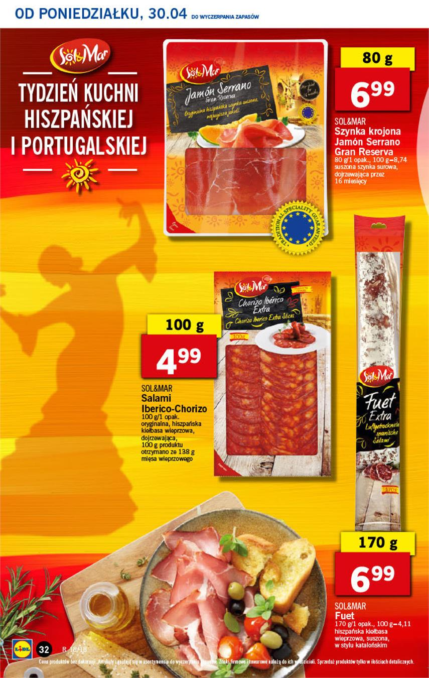 Gazetka Lidl Polska Sp. z o.o. nr 32 od 2018-04-30 do 2018-05-02