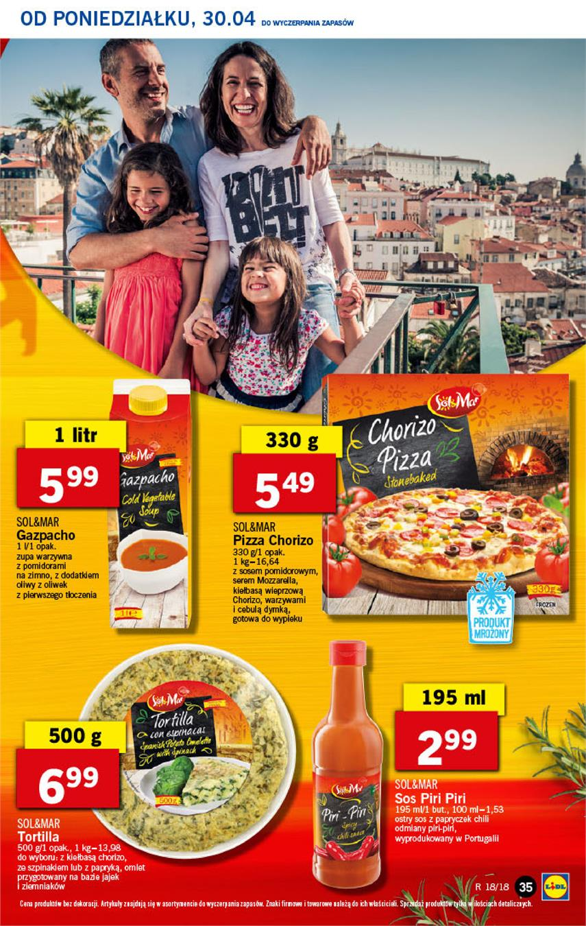 Gazetka Lidl Polska Sp. z o.o. nr 35 od 2018-04-30 do 2018-05-02